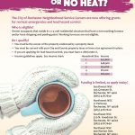 City Grants for No-Heat and Lead Hazard Control
